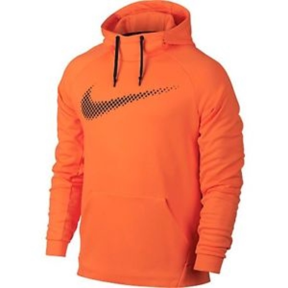 Men's Nike Therma Fit Chalk Logo training hoodie M NWT
